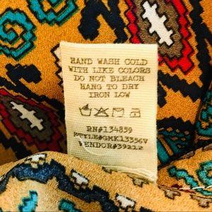 BKE Jackets & Coats - Gimmicks by BKE Buckle Beaded Tribal Print Vest